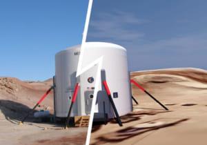 VRで火星の地図作成!3つの企業が協力して火星をVRマップ化する
