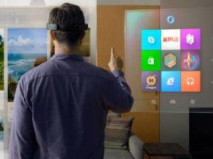 HoloLensによる視覚化のイメージ