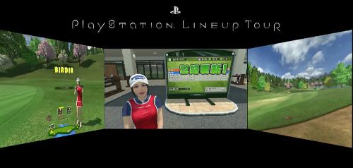 PSVR新作ゲームソフト「みんなのゴルフVR」