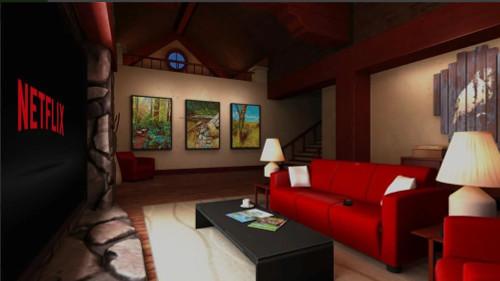 NetFlix VRでホームシアター