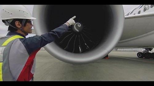 VRニュース「JALのVR整備士体験」