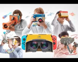 Nintendoスイッチが遂にVR対応!Nintendo LaboでVRキットが4月12日発売予定!