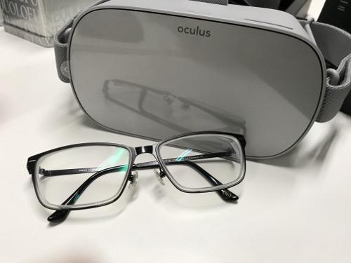 オキュラスgoとメガネ