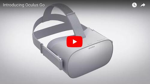 スタンドアロンVRゴーグル「OculusGo」