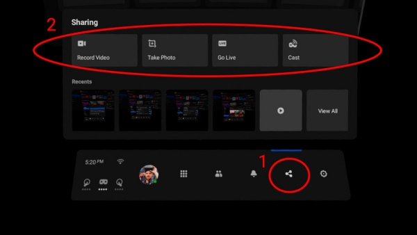 OculusQuest2のVR体験をビデオ録画して共有する方法!画質をアップする方法も!