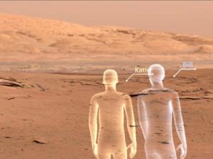 VRで火星を歩く
