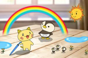 マンガ×AR・AIで天気予報!iPhoneアプリ「お天気JAPAN」登場!