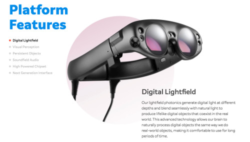 Magic Leap Oneの販売