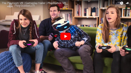 PSVRゲーム「The Playrooma VR」