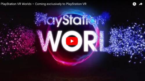 PSVRゲーム「PlayStationVR World」