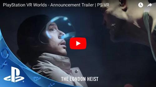 おすすめPS VRゲームソフト「PlayStationVRWorlds」