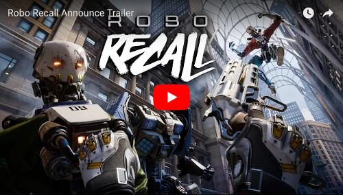 オキュラスリフト対応VRゲーム「ROBORECALL」