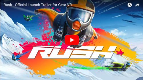 オキュラスGoのおすすめアプリ「Rush」