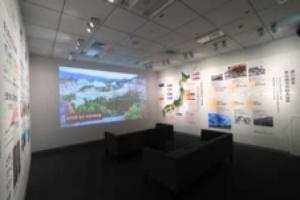 セキスイハイムミュージアム仙台の「過去の災害から学ぶ」エリア