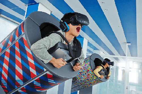 VR体験施設「スカイサーカス」