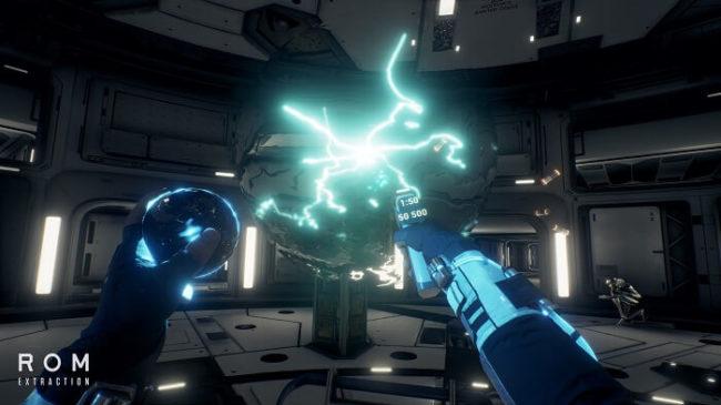 ROM: Extractionは近未来感が強い