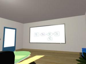 VR空間のホワイトボード