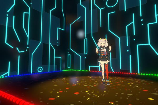 輝夜月VRライブステージ移動