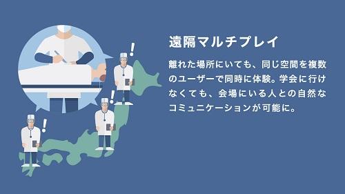 遠隔地でも医療研修が可能に!VRを活用した医療研修の実証実験開始!