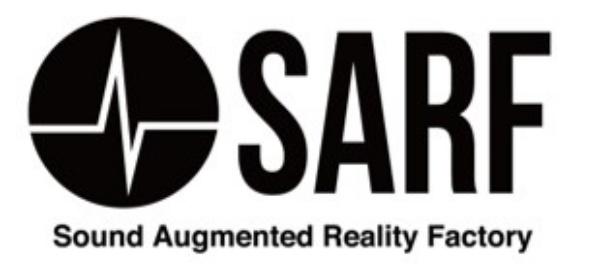 音声AR体験事業SARF