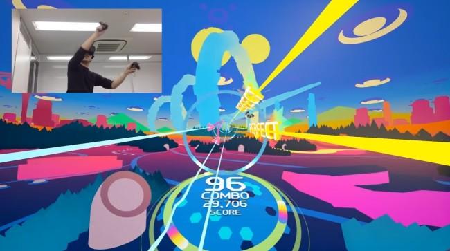 「Airtone」ゲーム画面イメージ