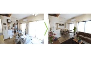 不動産CG・VR制作サービス「terior」に空室とステージング後を比較できる新機能登場!