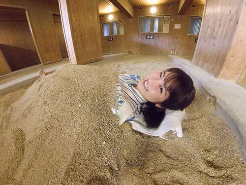 砂湯もVRで体験