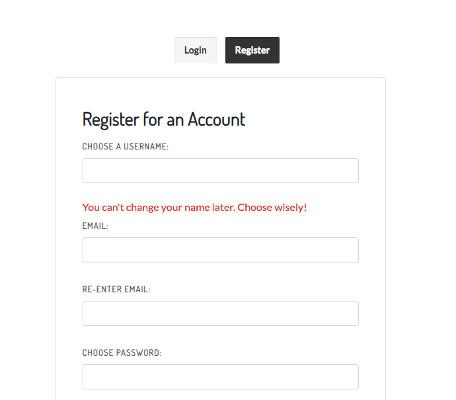 VR Chatのアカウント登録