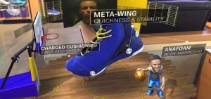 靴とARキャラクター