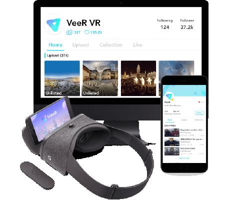VeeRはほぼ全てのVRデバイスに対応