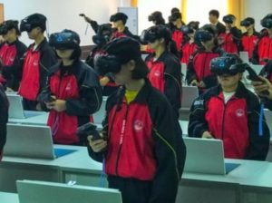 HTC Viveが使える教室