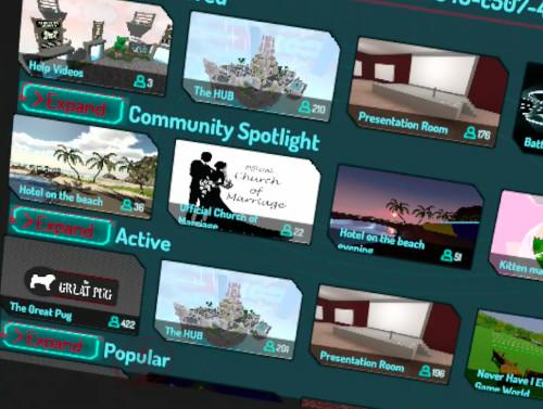 VR Chatのワールド
