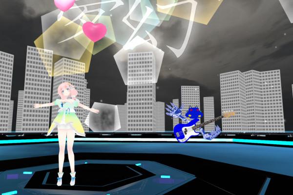 八月二雪夢幻VRライブ